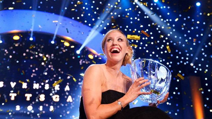 Lisa Norden at the Swedish Sport Award Gala