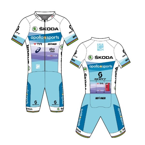 Lisa Nordens kit in Team Apollo Sports Skoda