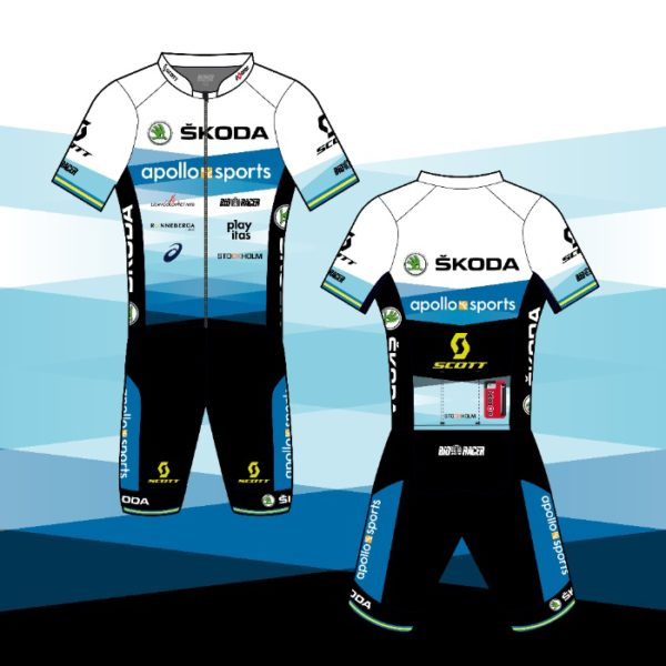 Calles och Henriks kit in Team Apollo Sports Skoda